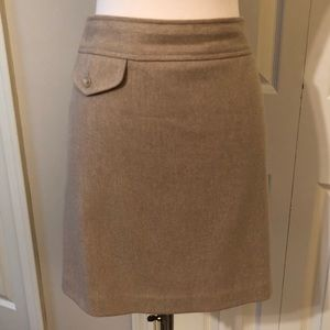 Banana Republic Wool Cashmere Mini Skirt